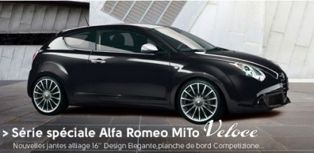 une nouvelle s rie sp cial pour l 39 alfa romeo mito blog auto carid al. Black Bedroom Furniture Sets. Home Design Ideas