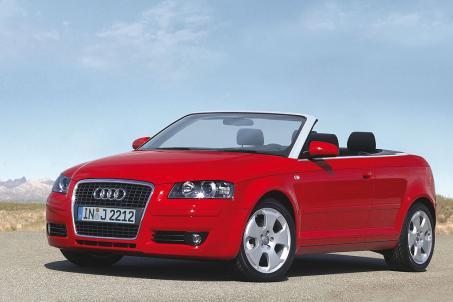 L'Audi A3 cabriolet ambition luxe possède une capote entièrement automatique