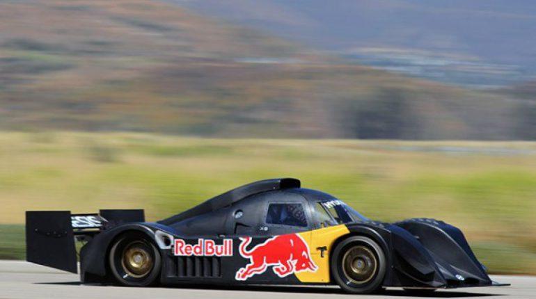 Tentative de Rhys Millen de battre le record de la Montée de Pikes Peak sur sa Hyundai en 2010 et de passer en dessous de la barre des 10'