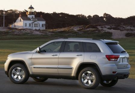 Nouvelle Jeep Grand Cherokee 2011