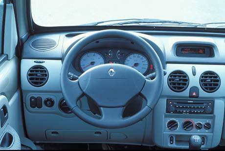 Planche de bord du Renault Kangoo occasion