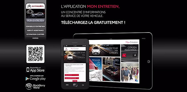 Points Forts Mirror Screen sur Citroen Connect