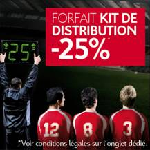 25% de remise sur le Kit Distribution