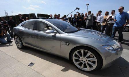 Tesla S Familiale sportive electrique