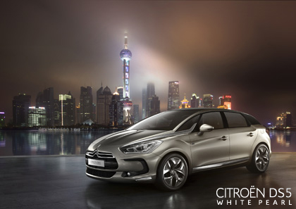 La vidéo de la présentation de la Citroen DS5 à Schanghai