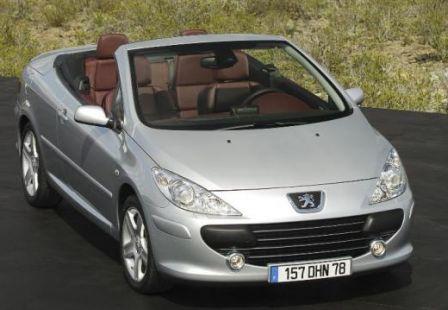 Cabriolet pas cher la Peugeot 307 CC