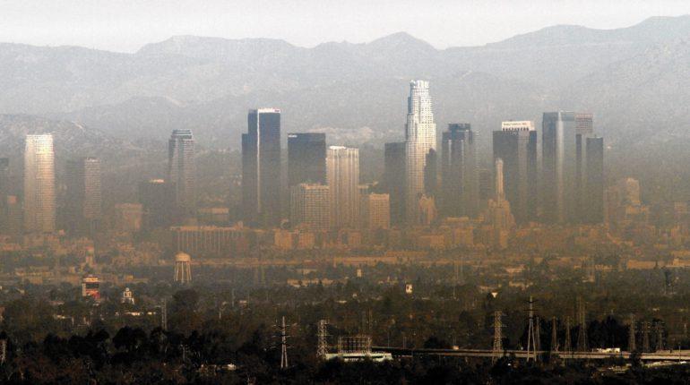 Pollution en Californie