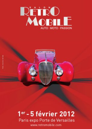 Salon Rétromobile 2012