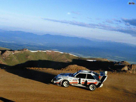 Audi S1 à Pikes Peak 2012