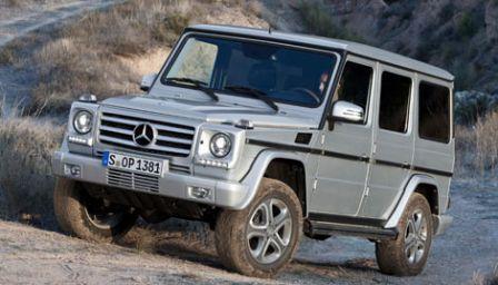 Mercedes Classe G 2012 restylé