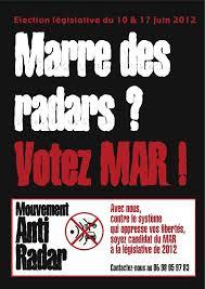 Mouvement antiradar aux législatives