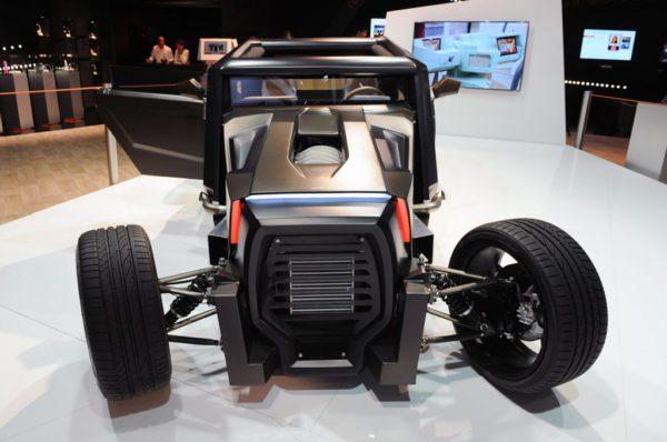 Concept-car Height Franco Sbarro