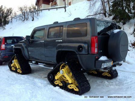 Hummer H3 Snowtrack