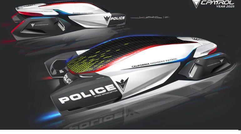 BMW e-Patrol Voiture de Police de 2025