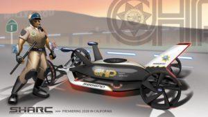 Concept SHARC de Subaru pour un véhicule de police pour 2025