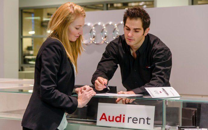 Audi lance la location Audi Rent