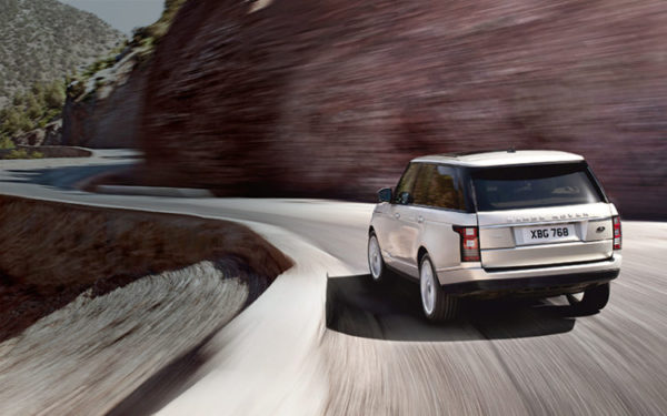 Range Rover 2013 vue arrière