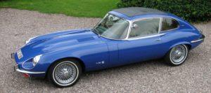 Voiture de collection Jaguar Type E