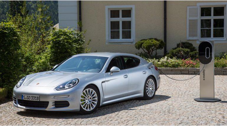 Porsche Panamera S Hybride 2013