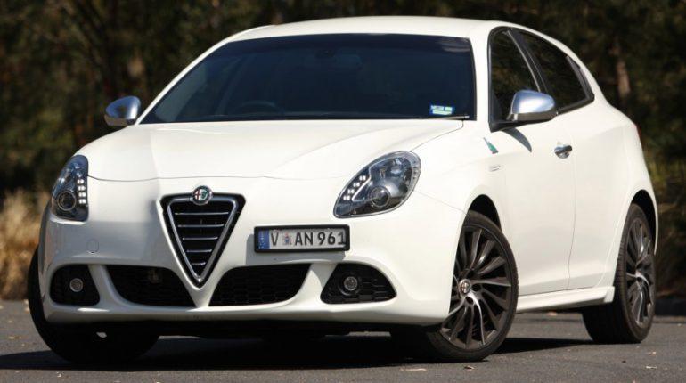 Alfa Romeo Giulietta restylée 2013
