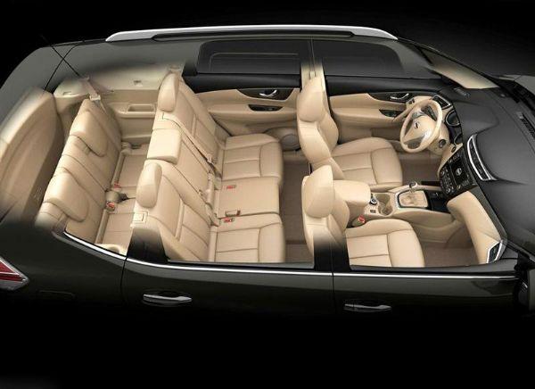 Nouveau Nissan X-Trail 2014 intérieur
