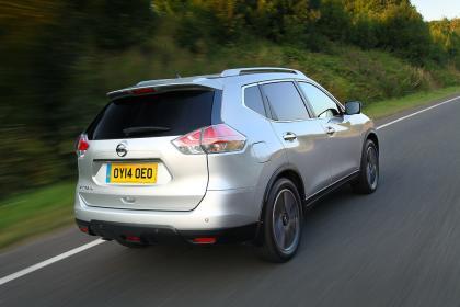 Nouveau Nissan X-Trail 2014 vue arrière