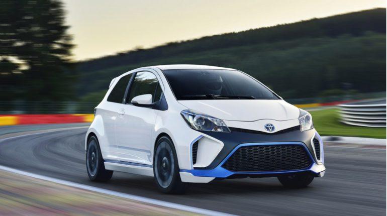 Toyota Yaris Hybrid-R Concept car 2013