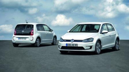 Volkswagen electrique e-Golf & e-up!