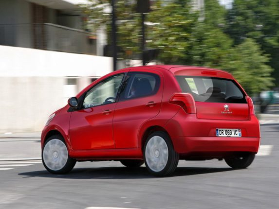 Nouvelle citadine de Peugeot la 108 sera présentée au salon de Genève