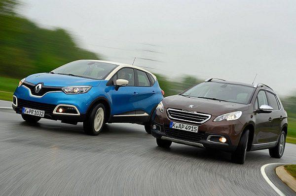 Si les ventes de SUV ont augmenté en 2013, c'est uniquement grâce aux nouveaux venus sur ce marché, Renault Captur et Peugeot 2008 en tête.