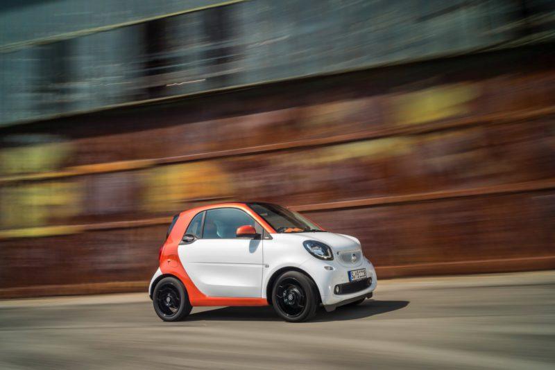 1100 € pour la boite automatique de la Smart Fortwo 2015