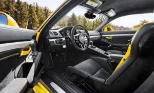 Intérieur Porsche Cayman GT4