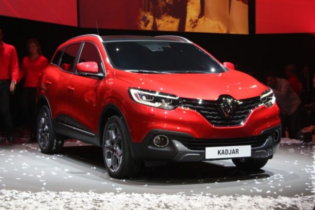 Renault Kadjar Présentation à Genève.