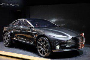 Aston Martin DBX concept car voiture et SUV électrique