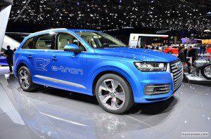 Audi Q7 e-tron quattro au printemps 2016 à partir de 80 000 €