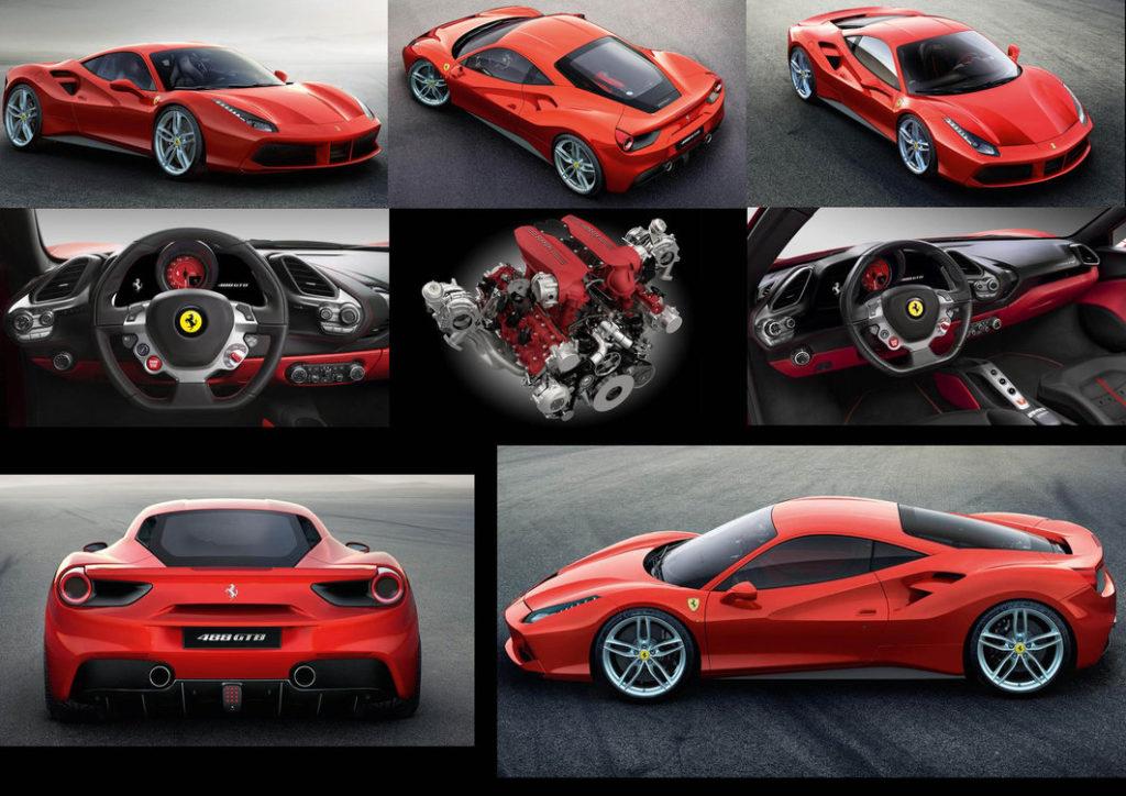 Ferrari 488 gtb la marque renouvelle le genre blog auto for Interieur 488 gtb