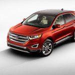 Vue avant Ford Edge 2015