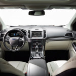 Intérieur cuir du Ford Edge 2015