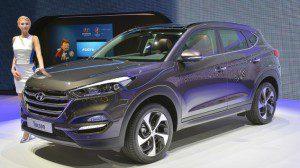 Hyundai Tucson 2016 à partir de septembre 2015 et 22000 €