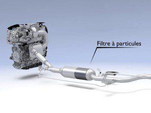 Contrôle anti pollution Filtre à Particule pour moteur essence.