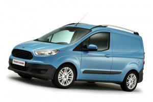 Nouveau Ford Transit Courier 2015