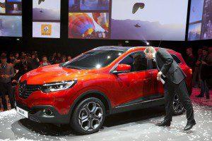 Renault Kadjar, crossover SUV,