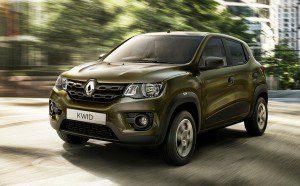 La Renault Kwid a 4200 € en Inde
