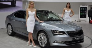 Nouvelle Skoda Superb 2016