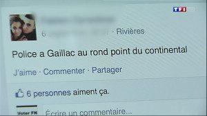 Le groupe anti radar Facebook relaxé par la cours d'appel de l'Aveyron.