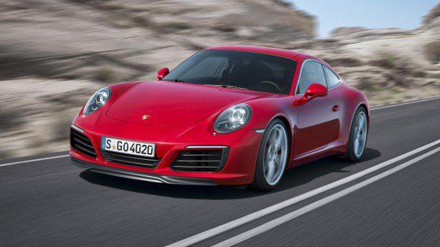 Nouvelle Porsche Carrera à moteur Turbo