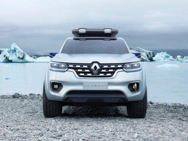 Concept-car Pick-up Renault Alaskan salon de l'auto Francfort 2015