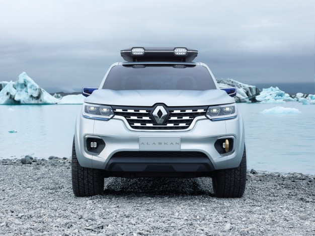 Concept-car Pick-up Renault Alaskan salon de l'auto Francfort 2015