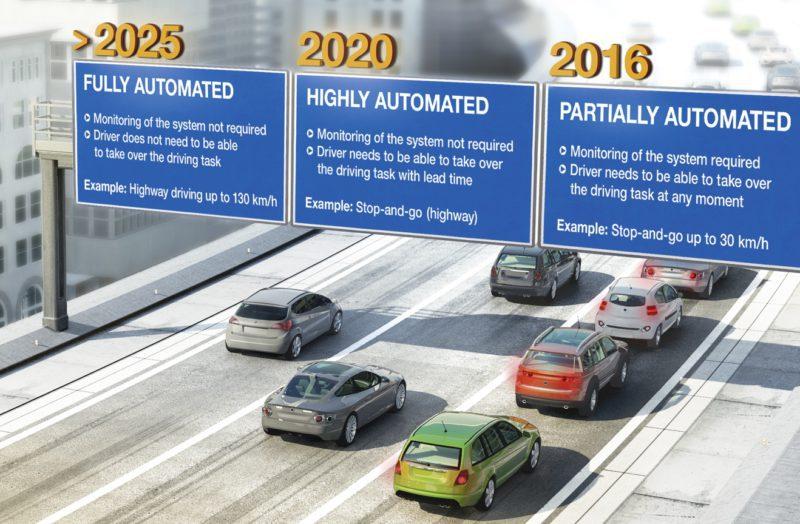 2016 L'année de la voiture autonome
