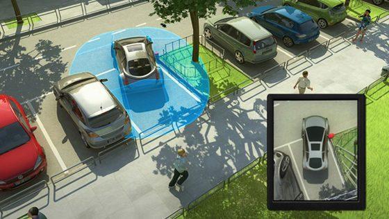 Vision augmentée de la voiture autonome Valeo Drive 4U